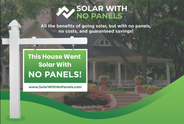 Solar With No Panels Yard Sign